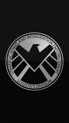 Shield Logo Marvel Wallpaper Shield logo wallpaper by