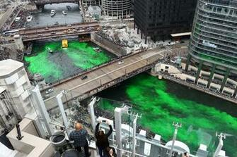 Chicago St Patricks Day 2019 parades river dyeing getting