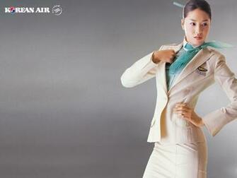 Korean Air Flight Attendant Uniform Style in the aisles the top ten