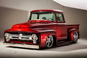 1956 Ford F100 Pickup Streetrod Street Rod Hot Hotrod USA