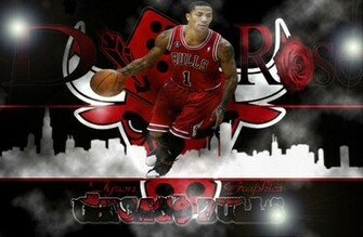 derrick rose of the chicago bulls by mademyown customization wallpaper