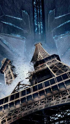 Wallpaper Independence Day Resurgence tour Eiffel paris best