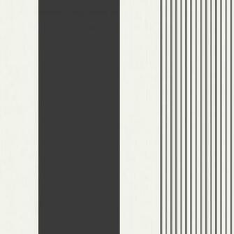Gold And Black Striped Wallpaper Akina stripe   blackwhite