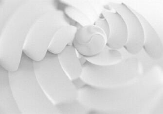 Abstract white wallpaper by CrowInHand