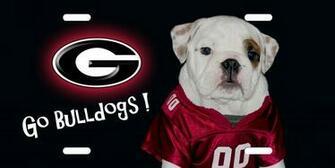 Georgia Bulldogs Camo Georgia bulldog license plate