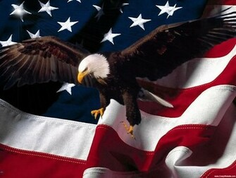 Free Wallpaper Patriotic Eagle American Flag Background 1 1024X768jpg