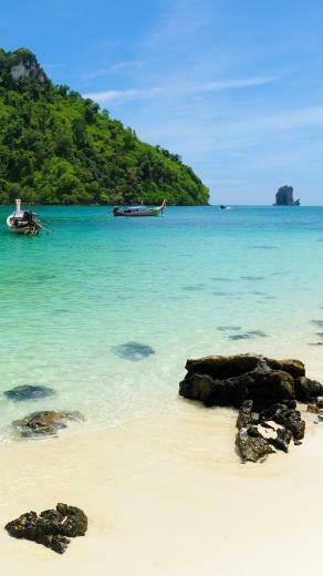 Tropical Beach Resort iphone 6 plus wallpaper iPhone 6 Plus