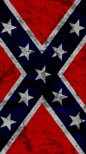 rebel flag iPhone wallpaper