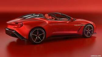 2018 Aston Martin Vanquish Zagato Speedster   Rear Three Quarter