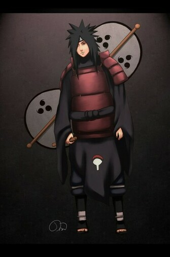 Naruto Wallpapers Uchiha Madara leader of the Uchiha clan   ok U X