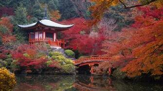 Colorful Japan Landscape Wallpaper PC Wallpaper