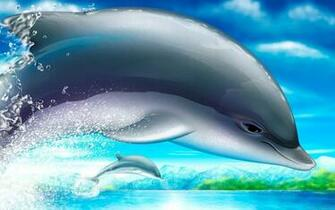 Cute Dolphin Wallpaper   HD Wallpapers