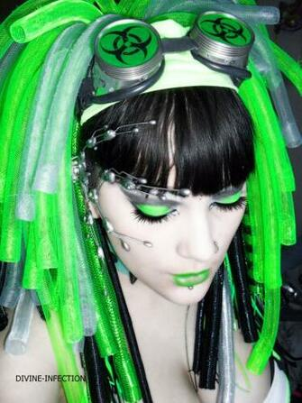Cybergoth by D1V1N3 1NF3KT1ON