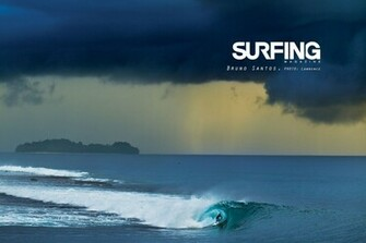 surfing surf wallpaper bruno santos lawrence 610x406 Surfing Magazine
