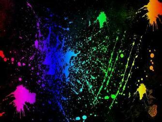 Cool Color Background Neon Colors Rock Splatter scrapbook