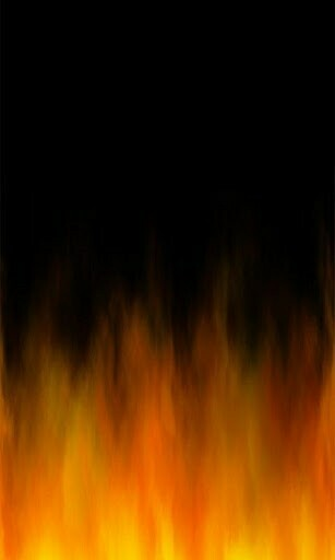Fire Flames Live Wallpaper animated hot flames burning your phone up