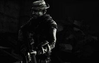 Wallpaper Call of Duty Modern Warfare SAS John Price Call of