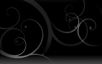 Black swirls wallpaper   73530