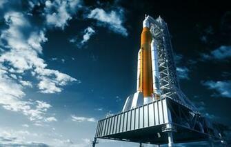 Wallpaper NASA art realism rocket images for desktop section