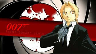 Agent Edward Elric Wallpaper by SerialKiller1313