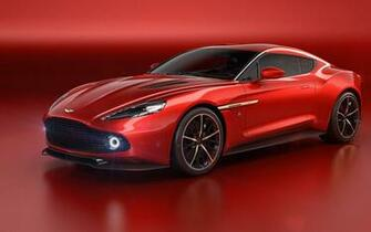 All in One Wallpapers Aston Martin Vanquish Zagato Red Car