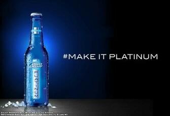REVIEW Bud Light Platinum 2012