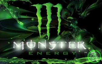 Custom Graphic Design Monster Energy Wallpaper