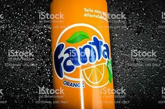 Orange Fanta Can Stock Photo More Pictures of 2015 iStock