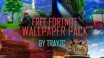 FREE Fortnite Wallpaper and Thumbnail pack   Wallpaper Pack 1 by