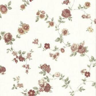 Rosetta Burgundy Floral Trail 302 66858