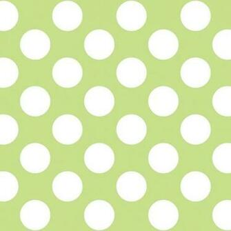 Polka Dot GreenWhite Removable Wallpaper contemporary wallpaper