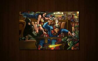 DC Comics Bar Time Wallpapers DC Comics Bar Time HD