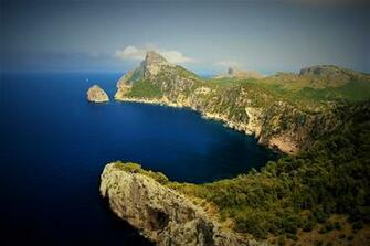Coast of Mallorca Spain HD Wallpaper Background Image