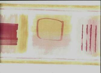 Pink Geometric Designs in Squares Wallpaper Border CT78156B eBay