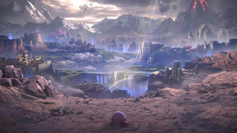 That Kirby Scene from the World of Light trailer but as a