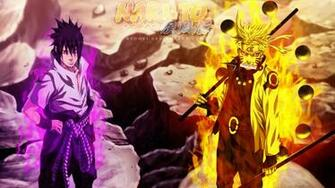 sasuke uchiha sharingan and rinnegan eyes and naruto uzumaki sage of