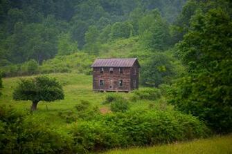 download Old Fashioned Summer Farm House Structures Nature