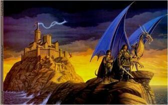 Download Fantasy Dragons Wallpaper 2330x1466 Wallpoper