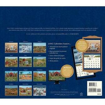 Lang Folk Art 2016 Wall Calendar