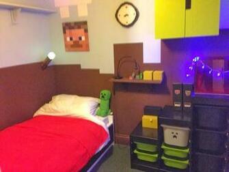 Minecraft Themed Bedroom Wallpaper Minecraft Themed Bedroom a