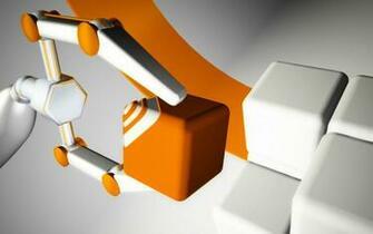 Sorting Orange and White Cubes wallpaper   ForWallpapercom