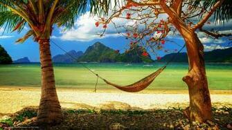 wallpaper caribbean paradise sunshine sea desktop wallpaper