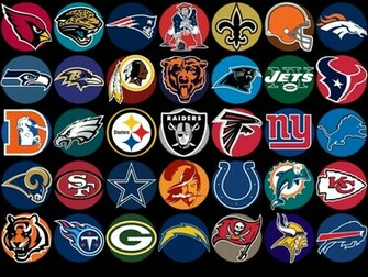 Nfl Football Logos Wallpaper American Football Nfl Logos