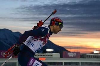 Emil Hegle Svendsen Norwegian biathlon gold medal winner
