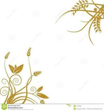 Gold Floral Background Royalty F