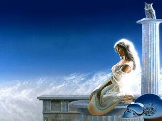 Greek Goddess Athena by Mellbell14