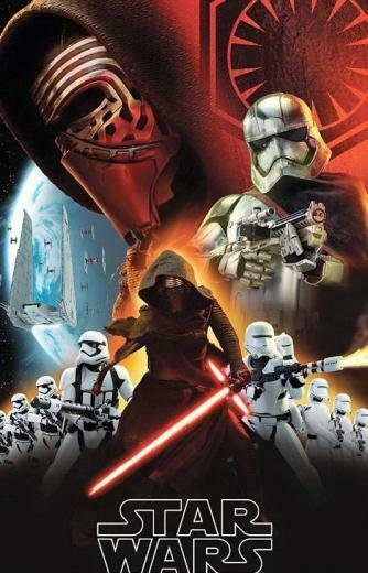 Wars The Force Awakens Promo Art Features Kylo Ren Stormtroopers