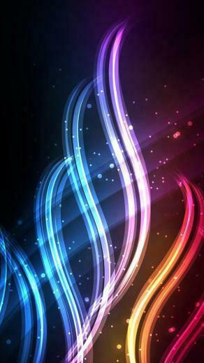 quad hd mobile phone wallpapers 1440x2560 neon swirls