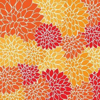 Vintage Floral Wallpaper Pattern Stock Photo HD   Public Domain