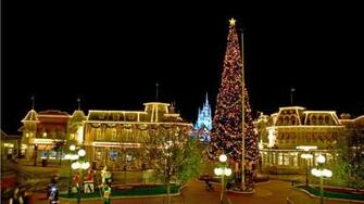 Christmas Disney World Background Desktop Sites Wallpapers For Desktop